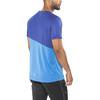 Craft Radiate No.2 Hardloopshirt korte mouwen Heren blauw